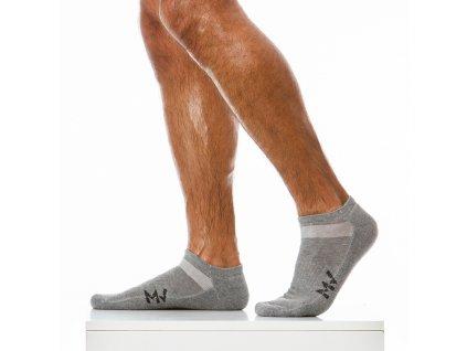 xs1923 grey modus vivendi accessories gay accessories line winter gym socks 1