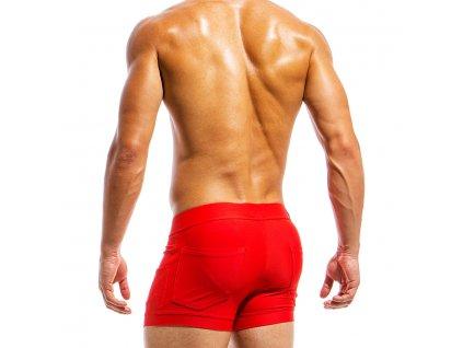 ms1831 red fr(2) modus vivendi swimwear basics line short licn qu