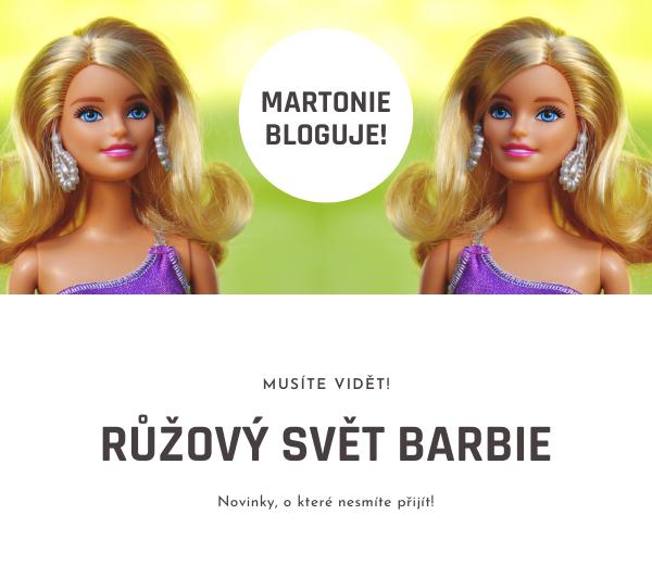 Panenky Barbie a jejich růžový svět