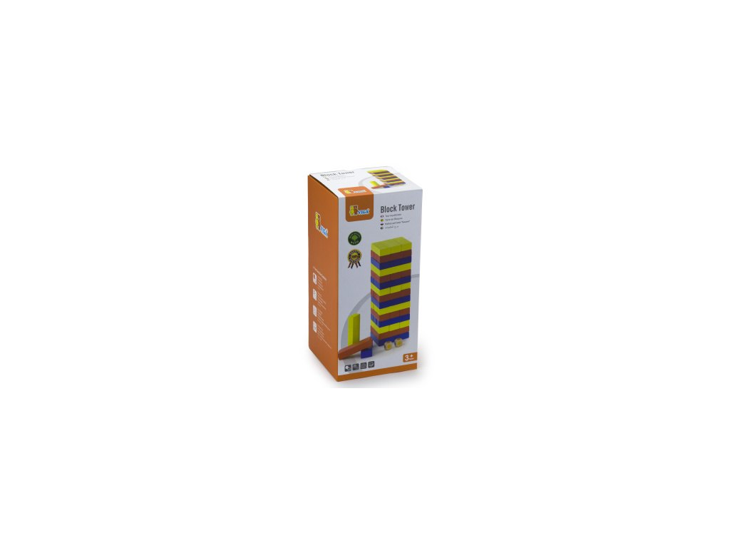 Dřevěná vež  48 ks