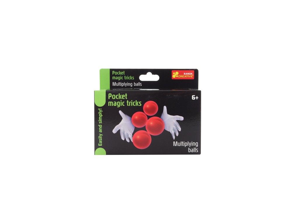 Kouzelné triky do kapsy - násobení míčků