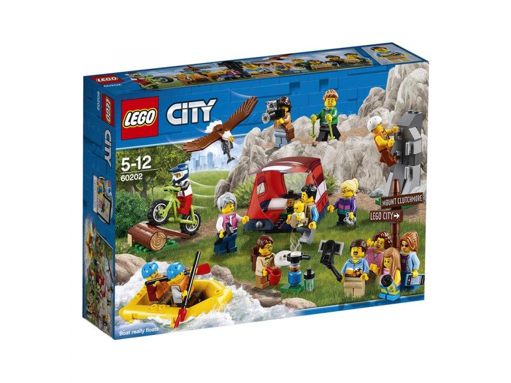 LEGO City 60202 Sada postav – dobrodružství v přírodě 1