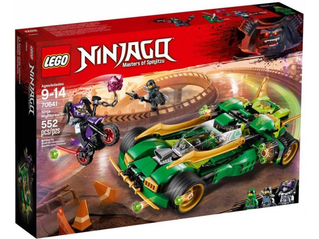 LEGO Ninjago 70641 Nindža Nightcrawler 1