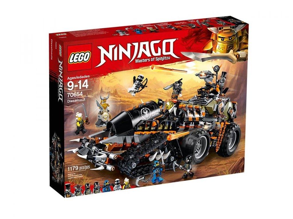 LEGO Ninjago 70654 Dieselnaut 1