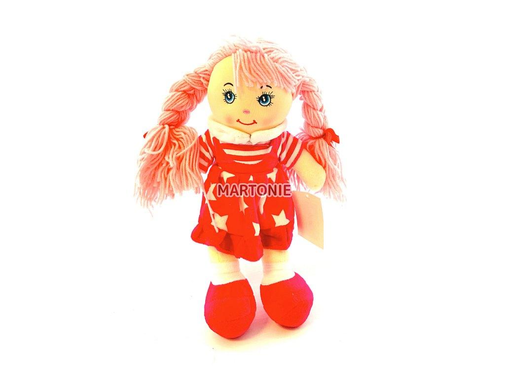 Hadrová panenka hvězdičky - růžová
