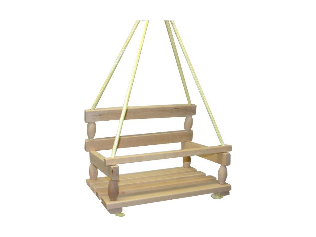 Česká houpačka dřevěná