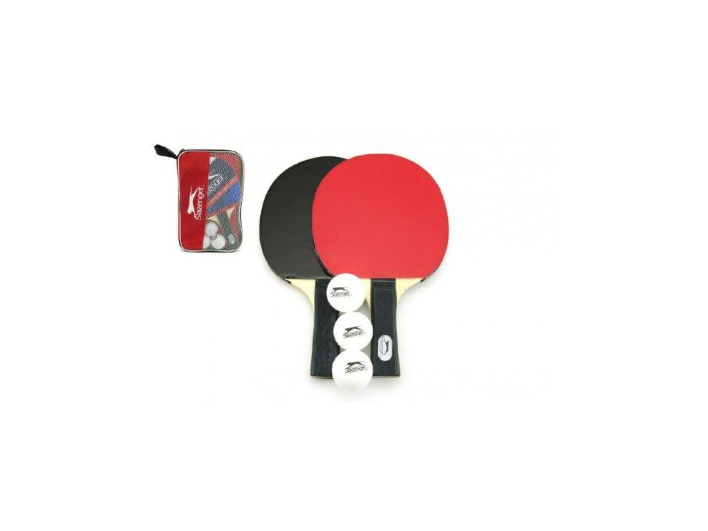 Sada stolní tenis 2 pálky + 3 míčky v tašce
