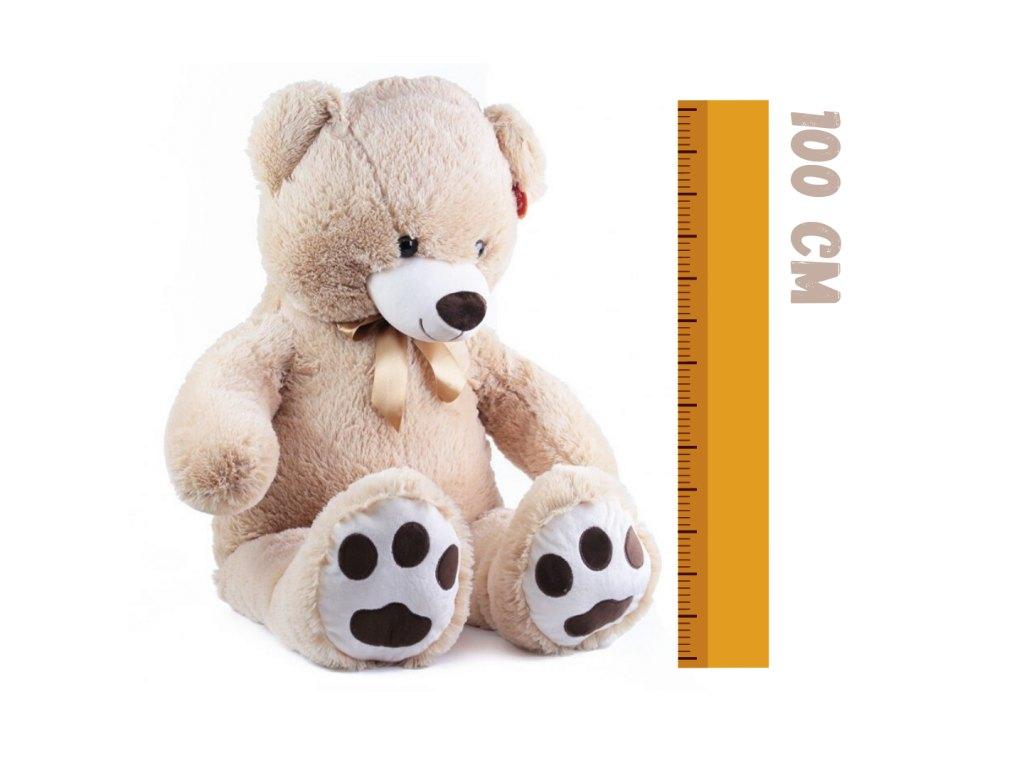 Velký plyšový medvěd Fido, 100 cm