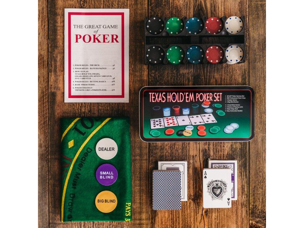 poker plech
