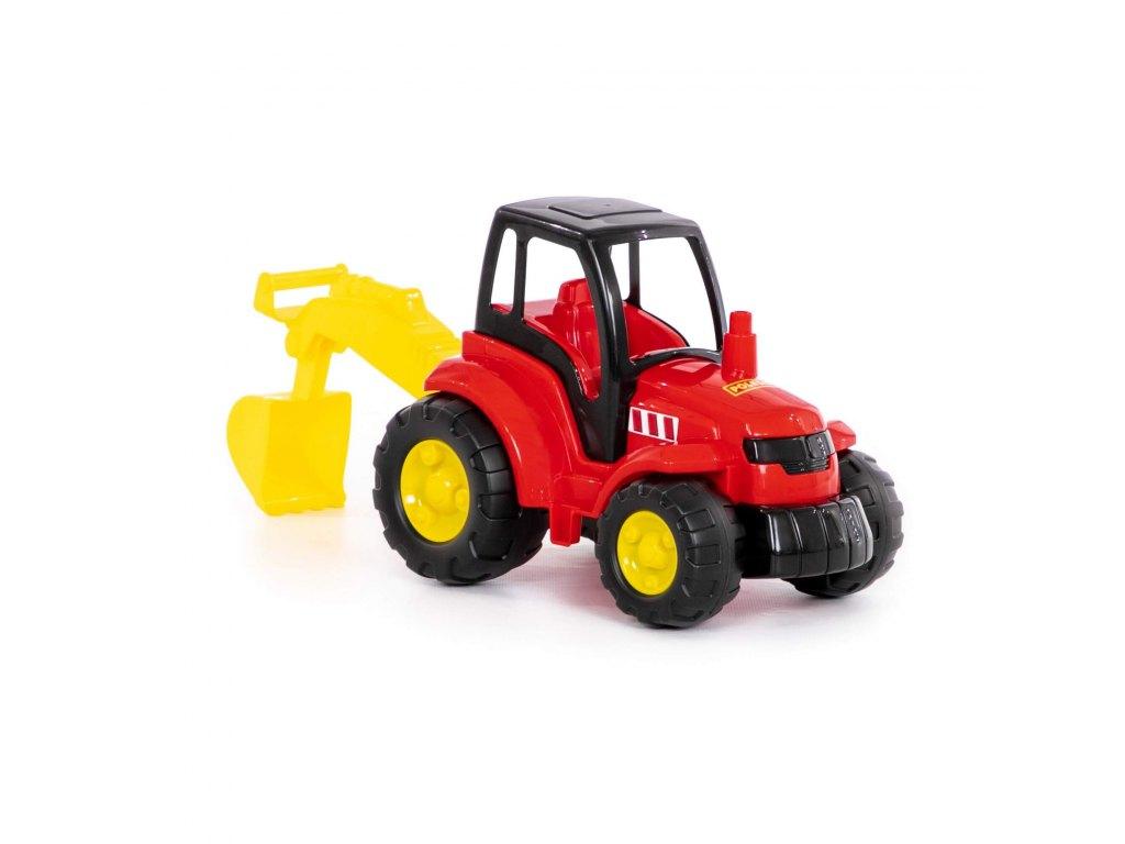 Traktor Šampion s lžící 36 cm