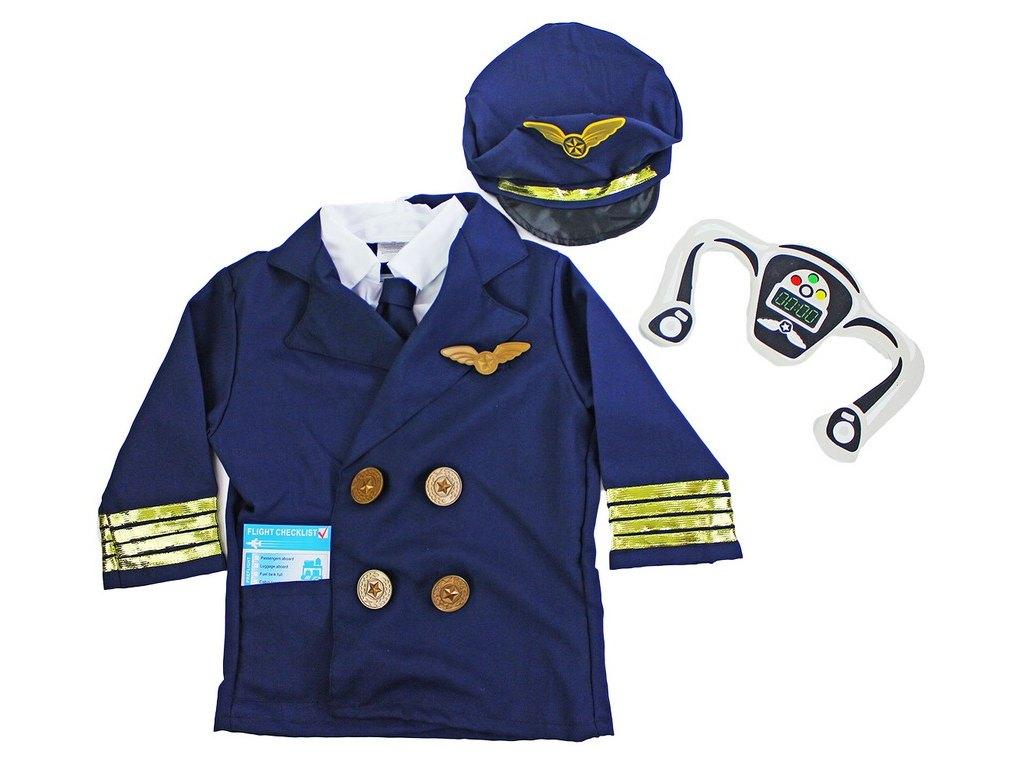Dětský kostým Pilot (S)