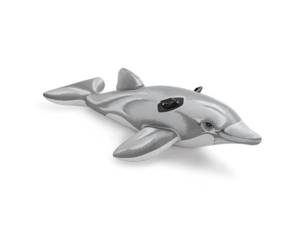 Nafukovací hopsadlo delfín, 175 x 66 cm