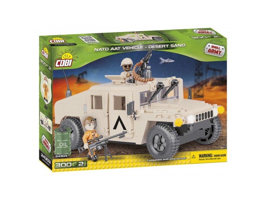 stavebnice NATO terénní vozidlo pouštní, 300 k, 2 f