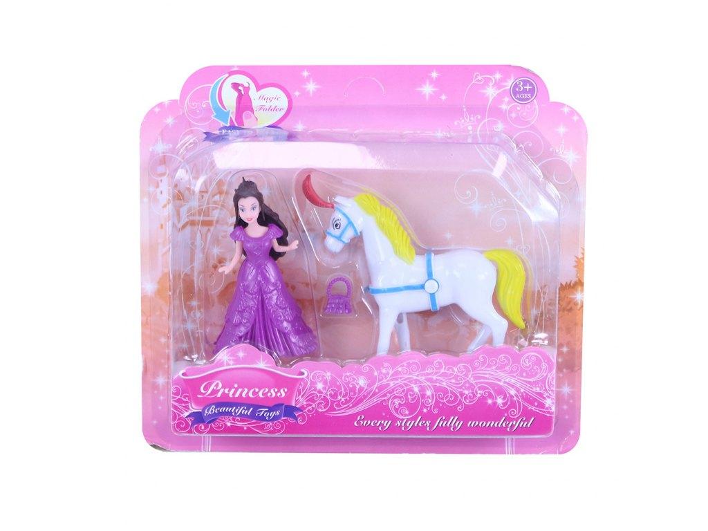 sada princezna s koněm na blistru