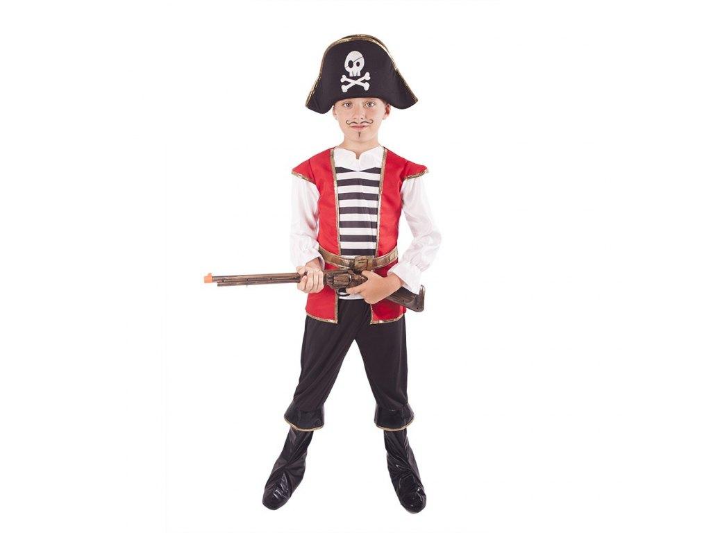 Dětský kostým Pirát s kloboukem (L)