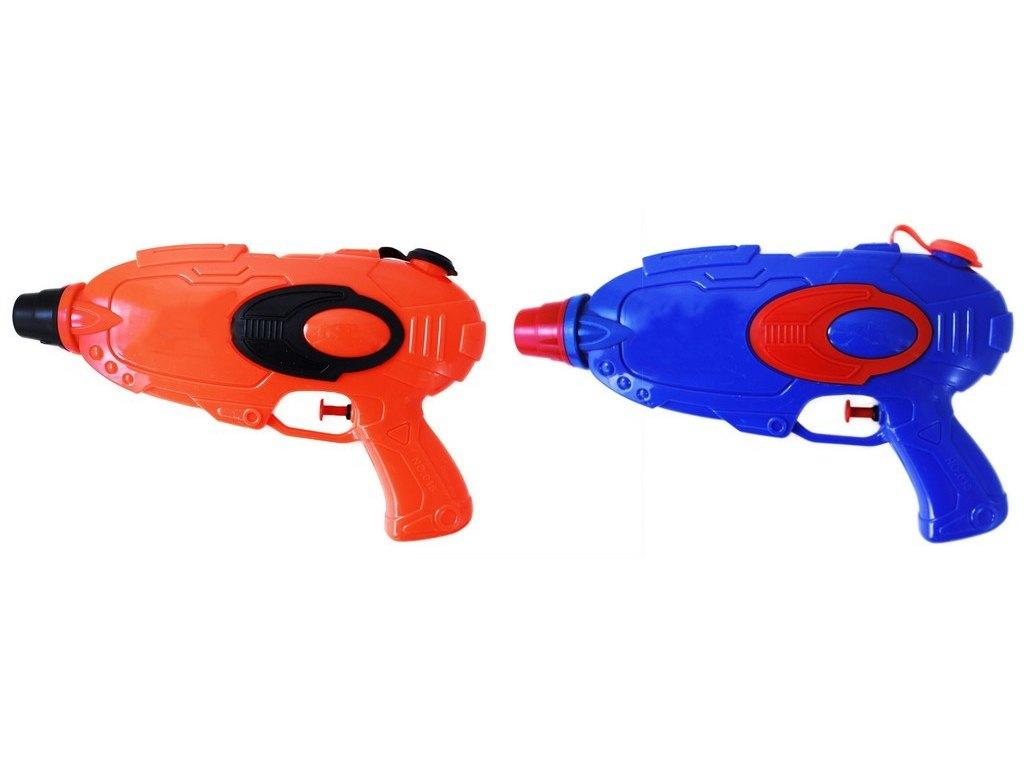 pistole vodní, 26 cm modrá