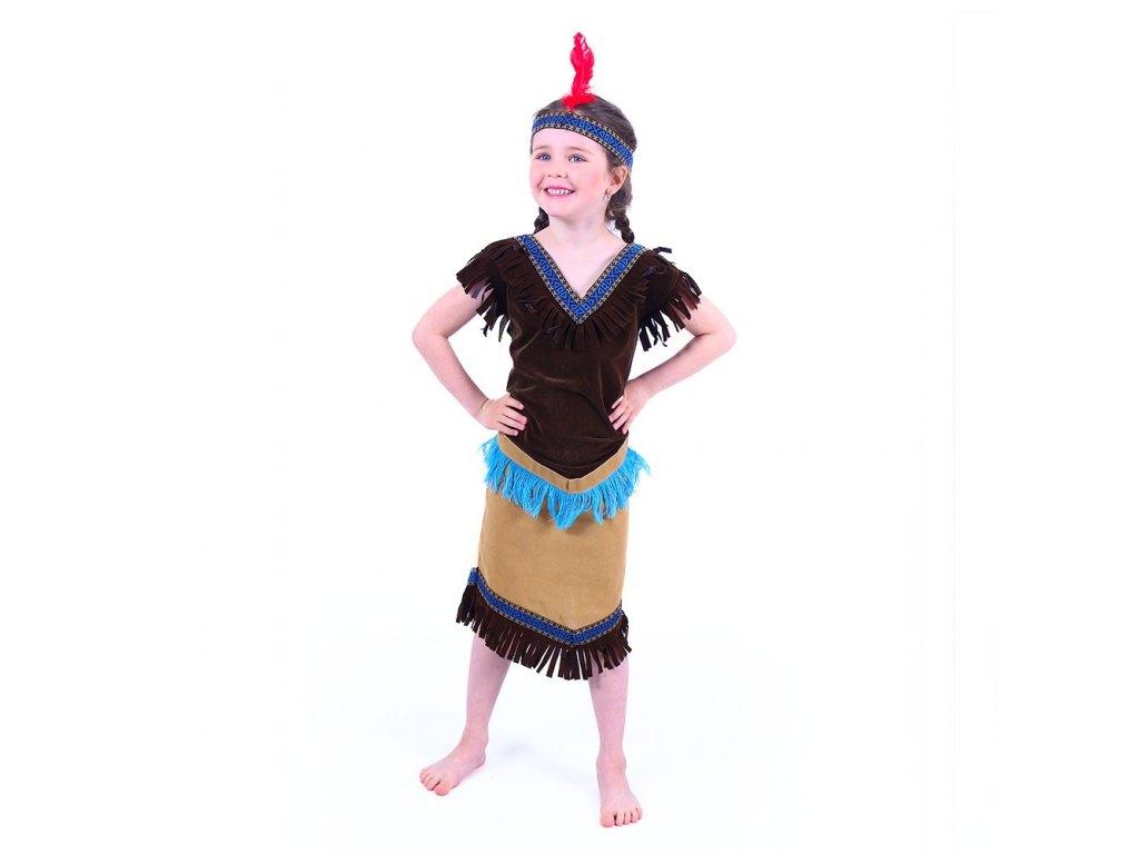 Dětský kostým Indiánka (S)