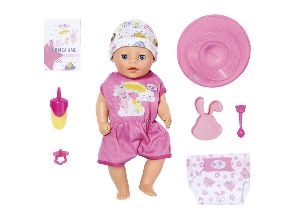 Panenka BABY born Soft Touch Little holčička, 36 cm