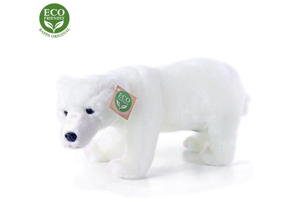 Plyšový medvěd polární stojící, 28 cm, ECO-FRIENDLY