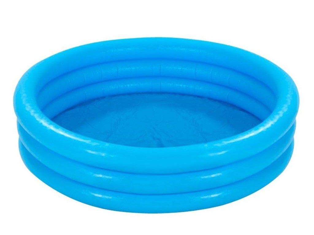 Nafukovací bazén modrý, 168 x 38 cm