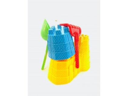 Set na výstavbu hradu - žlutý