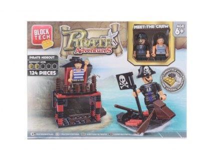 Stavebnice Piráti + dárek