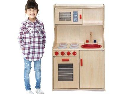 kuchyně dřevěná
