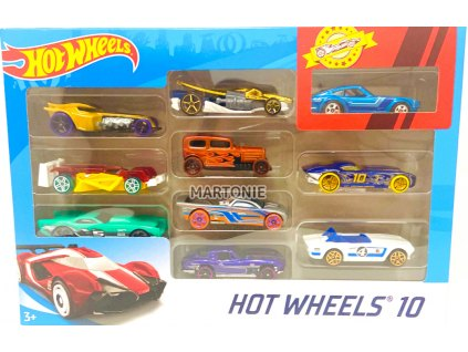 Hot Wheels 10ks angličák 54886