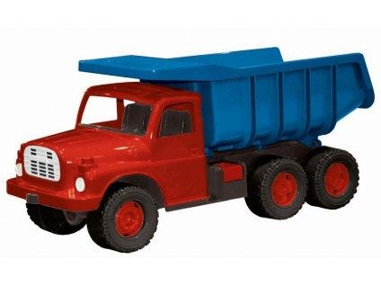auto Tatra 148 modro-červená, plastová