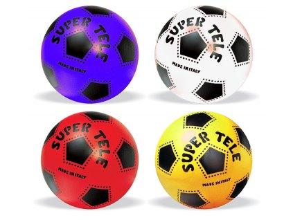 míč vyfouknutý SUPER TELE, 23 cm