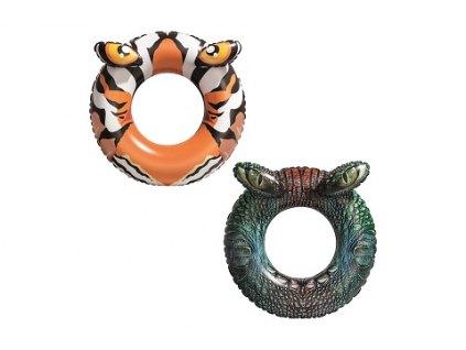 BESTWAY Nafukovací kruh Tygr
