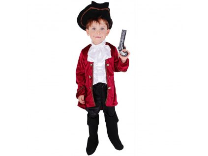 Dětský kostým Kapitán Hook (M)