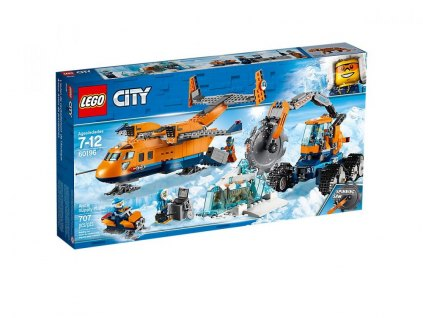 LEGO City Arctic Expediti 60196 Polární zásobovací letadlo 1