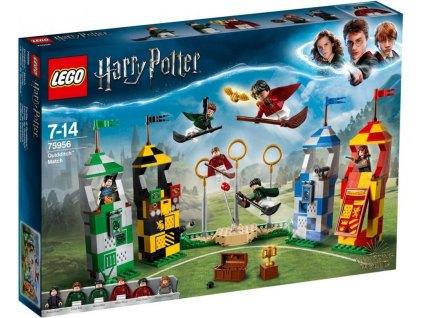 LEGO Harry Potter 75956 Famfrpálový zápas 1