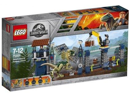 LEGO Jurský Svět 75931 Útok Dilophosaura na hlídku 1