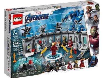 LEGO Super Heroes 76125 Iron Man a jeho obleky 1