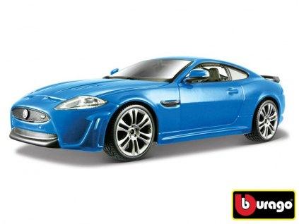Jaguár XKR-S Metallic Blue Bburago 1:24 18-21063