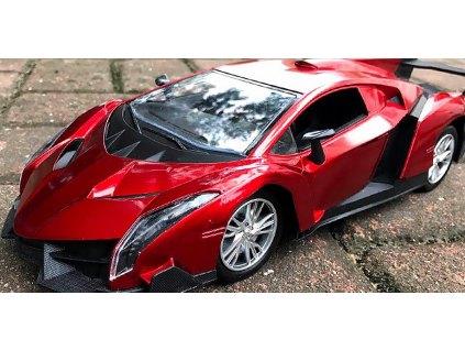 luxusní auto red kopie