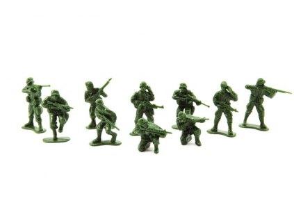 Sada vojáčků - hnědí