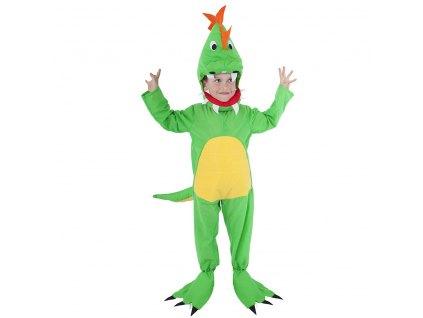 Dětský kostým Dinosaurus (S)