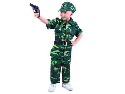 Kostým voják dětský, vel. M EKO