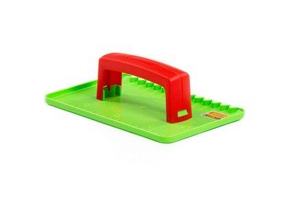 Zednické hladítko - zelené