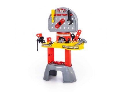 Dětský montovací pracovní stůl s příslušenstvím