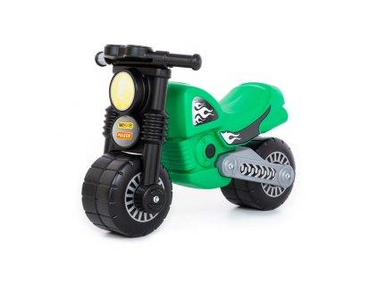 Odrážedlo motorka zelené