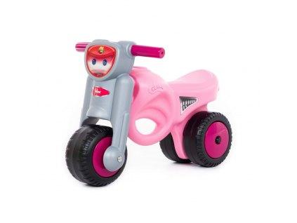 Odrážedlo motorka MiniMoto růžová