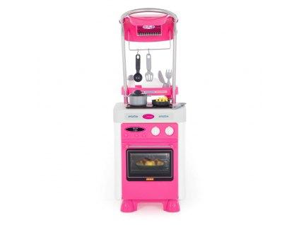 Růžová kuchyňka Carmen