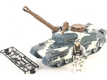 tank bílý