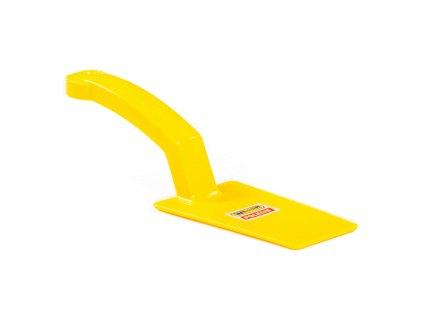 Zednická lžíce - hrana - žlutá
