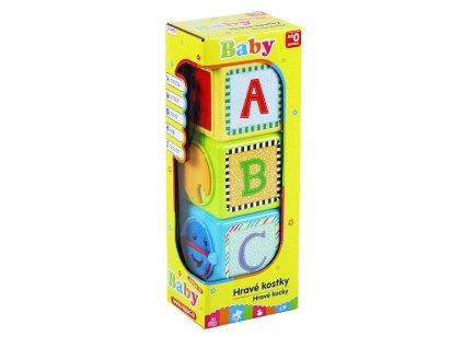 kostky naučné baby 3 ks