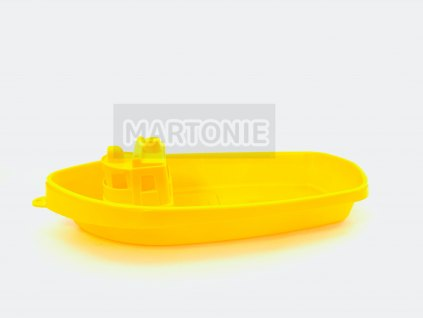 loď plastová 40 cm žlutá